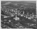 Aerial View of Sacramento, including California State Capitol Building, Capitol Park, and Southern...