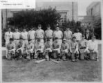 Sacramento High School Baseball Team Portrait