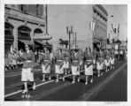 Legionnaire's Parade Along J Street at Twelfth