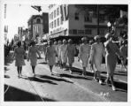 Legionnaire's Parade Along K Street at Eleventh