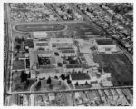 Aerial View of Sacramento High School at Thirty-Fourth and W