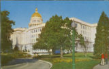 State Capitol, Sacramento, Cal. - Photo, Blank Back