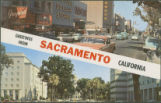 Greetings from Sacramento, California - Two Views