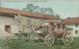 Prairie Schooner and Stage Coach, Sacramento, California