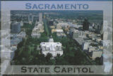 Aerial View of State Capitol, Looking West, Sacramento, CA
